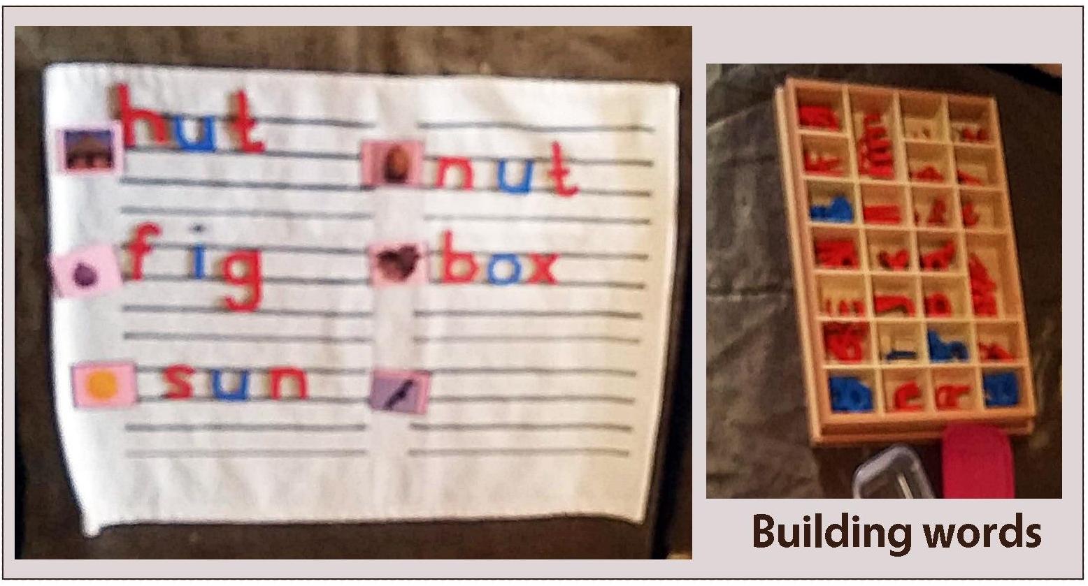 Preschool near you in Pretoria East Montessori language
