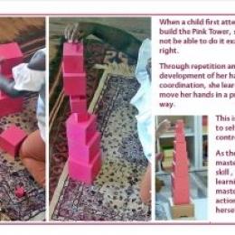 Preschool near you  in Pretoria East Montessori stimulating the senses